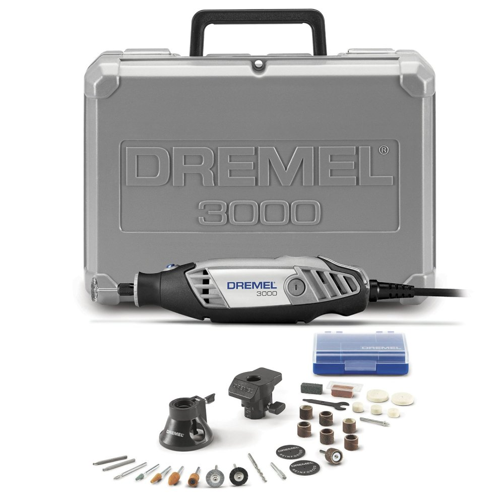 Dremel Rotary Tool with 2 Attachments and 28 Accessories (3000-2:28)-sale-02