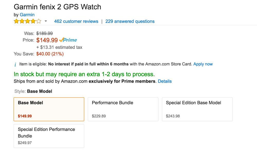 Garmin fenix 2 GPS Watch-3