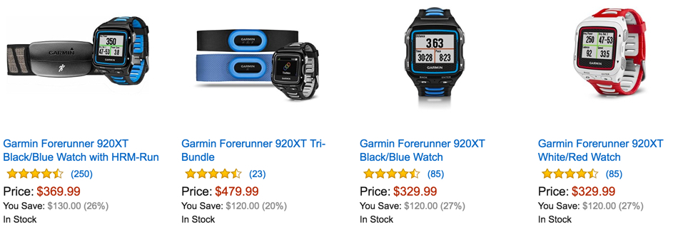Garmin Forerunner 920XT Multisport GPS Watch