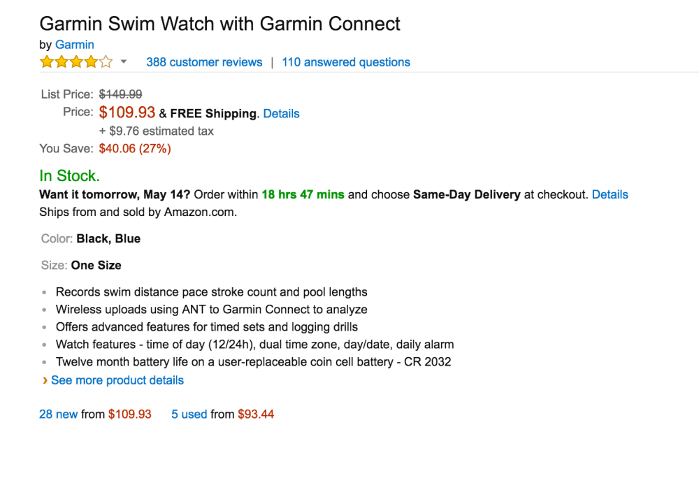 Garmin Swim Watch with Garmin Connect-sale-02