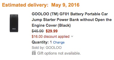 GOOLOO powerbank