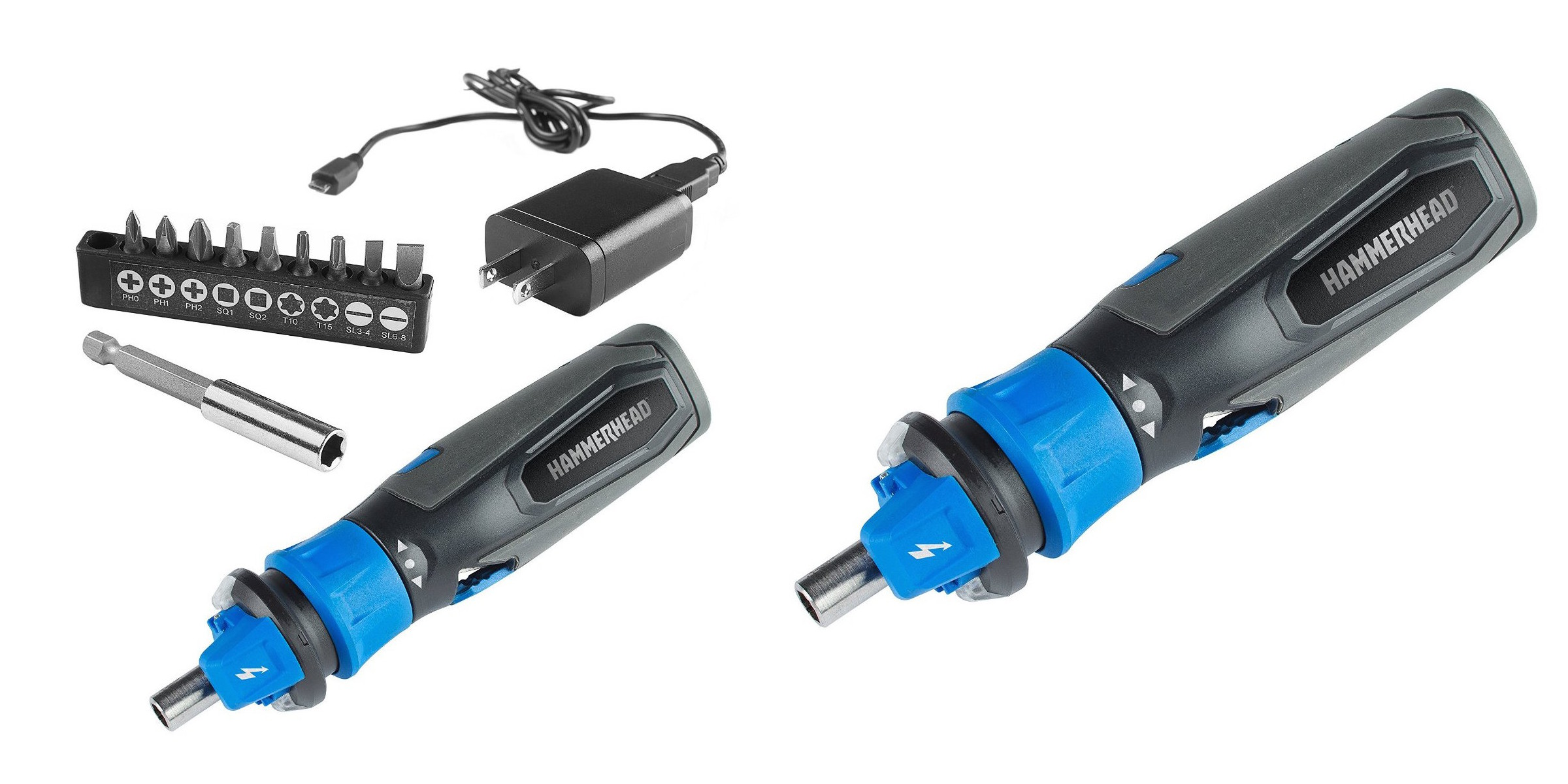 HAMMERHEAD 4V Lithium Rechargeable Screwdriver-3