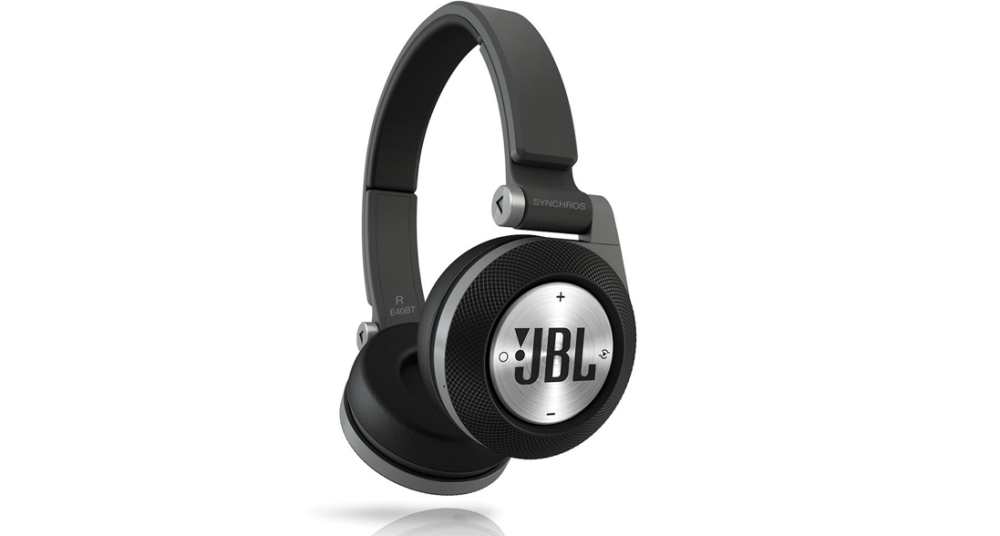 JBL Synchros E40BT Wireless On-Ear Bluetooth Stereo Headphones w:Hands-Free Calling