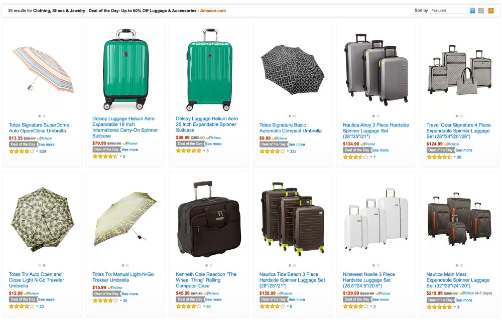 Nautica Ahoy 3 Piece Hardside Spinner Luggage Set-sale-Amazon Gold Box-01