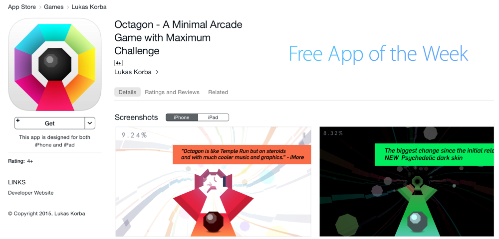 Octagon-Free App of the Week-sale-08