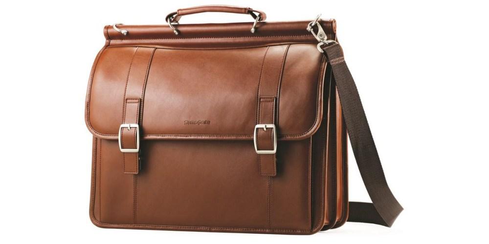 samsonite-leather-bag
