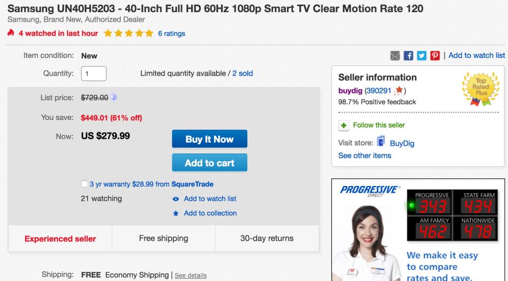 samsung-hdtv-ebay-deal