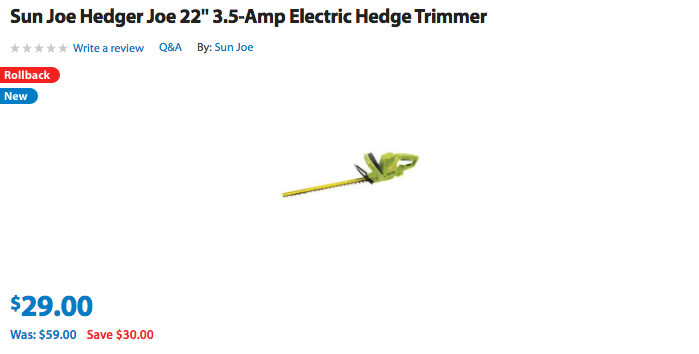 sunjoe-electric-trimmer-walmart-deal