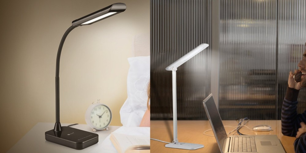 TaoTronics LED Desk Lamp with Gooseneck and Touch Control-5