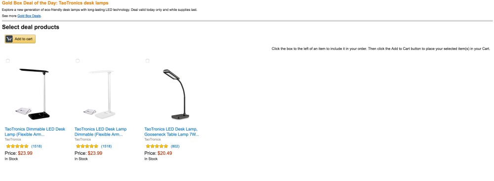 TaoTronics LED Desk Lamp with Gooseneck and Touch Control-6