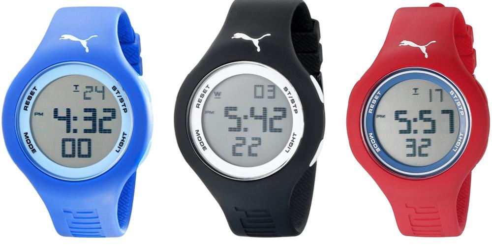 Unisex Drop Digital Display Analog Quartz Watch
