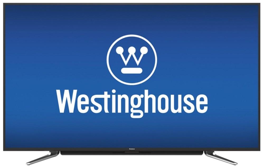 Westinghouse - 55%22 Class (54.6%22 Diag.) - LED - 2160p - Smart - 4K Ultra HD TV - Black