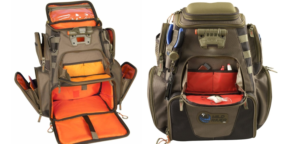 Wild River by CLC Tackle Tek Nomad Lighted Backpack (WN3604)-4