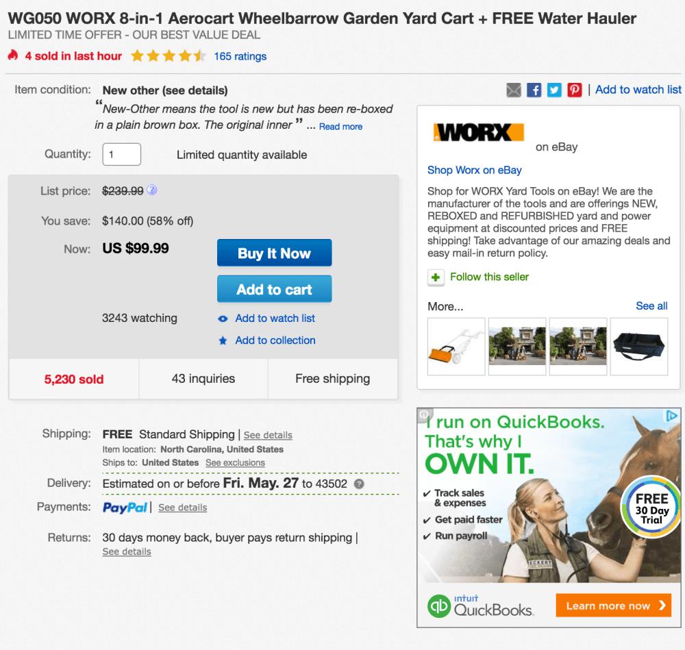 worx-aerocart-ebay-deal