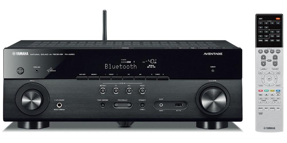Yamaha RX-A550 5.1-Channel MusicCast AV Receiver