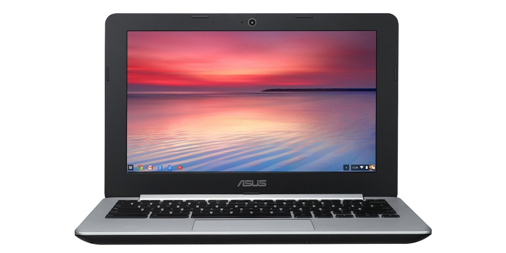 11.6 Inch Intel Dual Core ASUS Chromebook with 4GB RAM and16G SSD (C200MA)-1