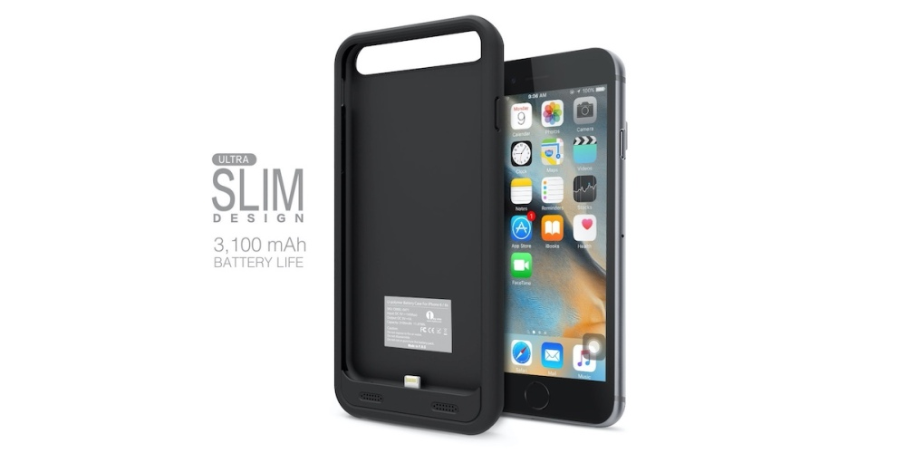 1byone 3,100 mAh Battery Case for iPhone 6 : 6s