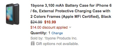 1byone charger case