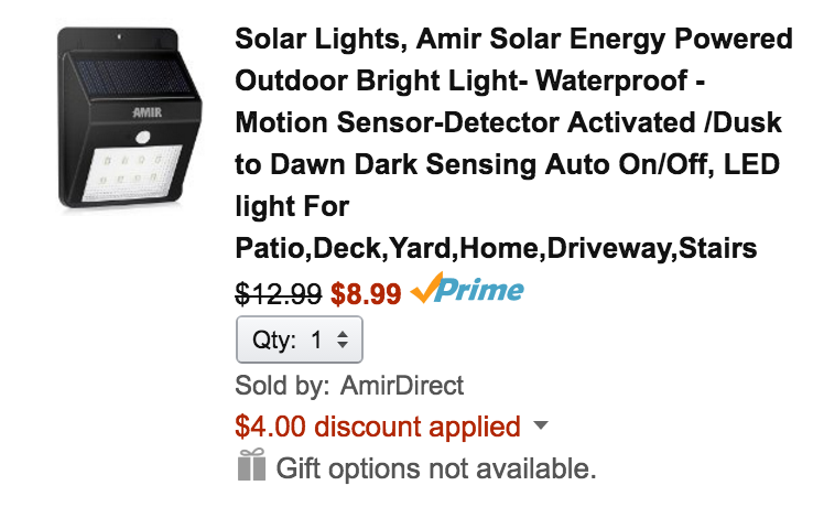 amir-solar-light-amazon-deal