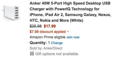 Anker 5-port USB