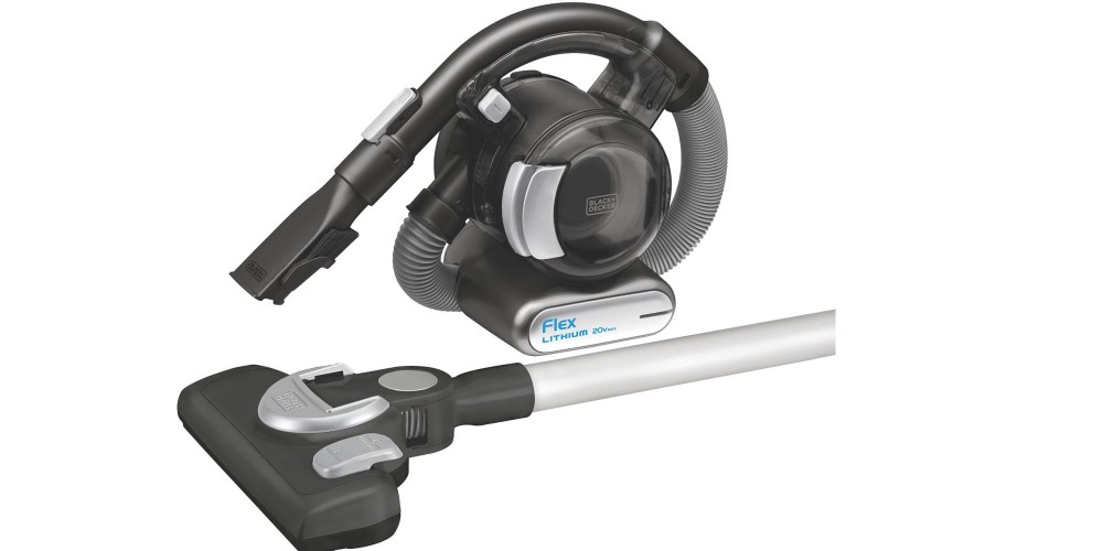 Black+Decker MAX Lithium Flex Vacuum with Stick Vacuum Floor Head and Pet Hair Brush-3