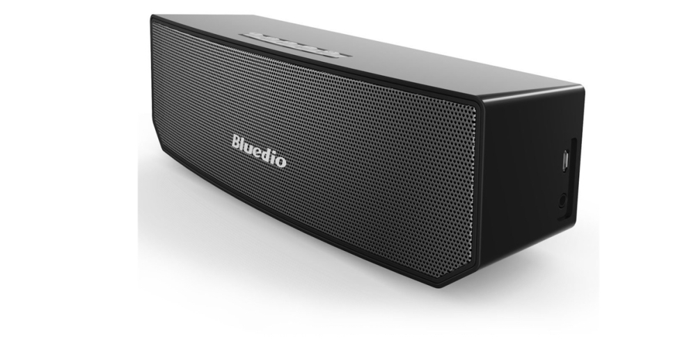 Bluedio BS-3 (Camel) Portable Bluetooth Wireless Stereo Speaker with Microphone for Calls