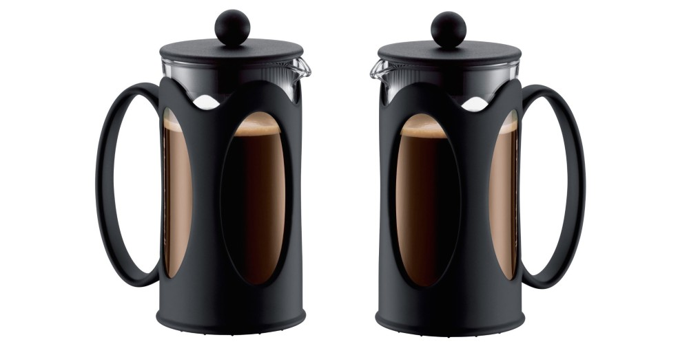 Bodum New Kenya 12-Ounce Coffee Press in Black-2