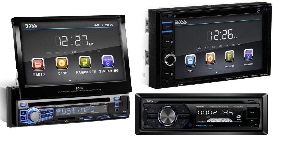 Boss CD:MP3 Car Audio Receiver with Bluetooth & Wireless Remote3