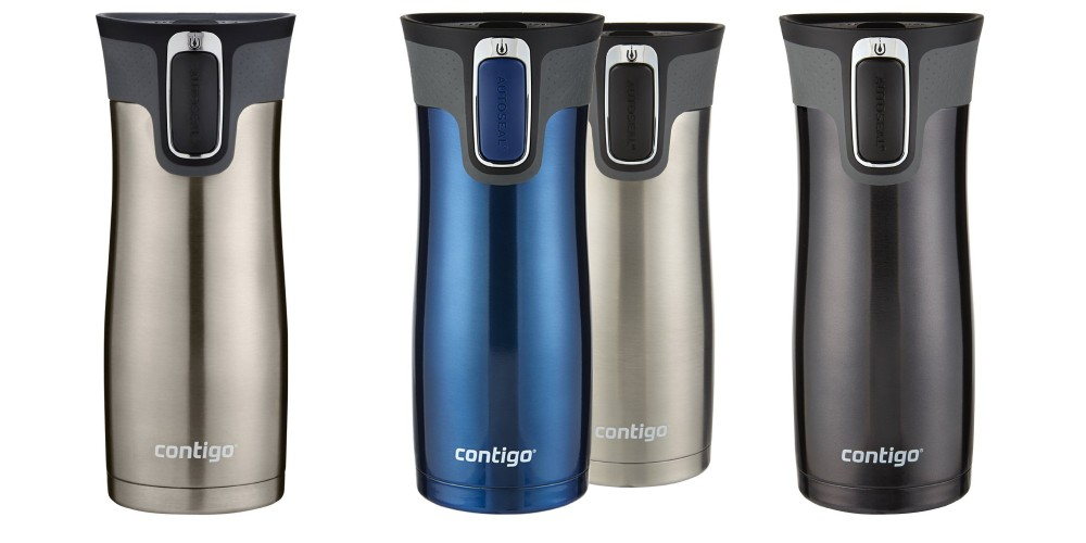 Contigo's Autoseal West Loop Stainless Steel Travel Mug with Easy Clean Lid