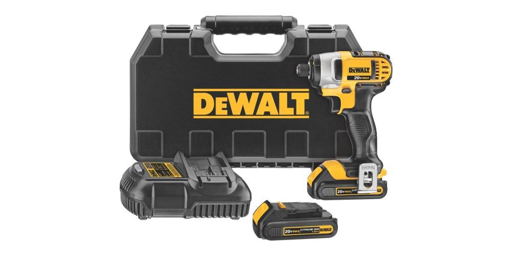 DEWALT 20V MAX Li-Ion Impact Driver Kit-6