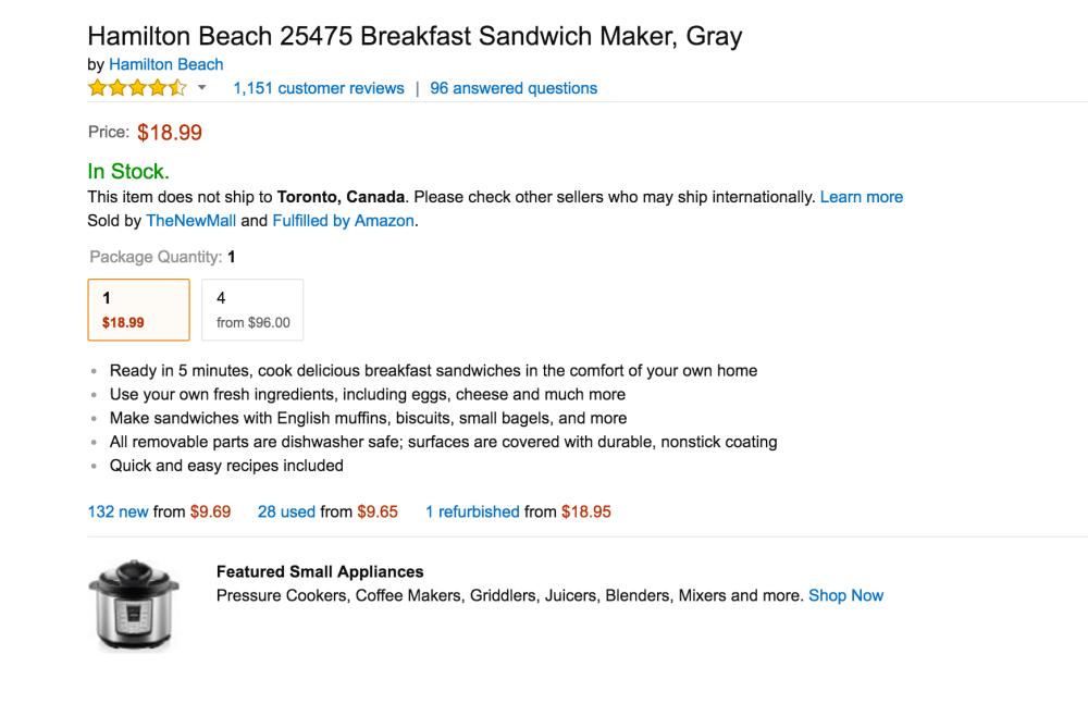 Hamilton Beach Breakfast Sandwich Maker-3