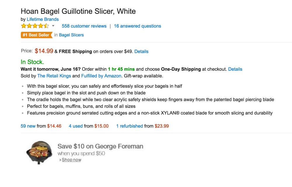 Hoan Bagel Guillotine Slicer-5
