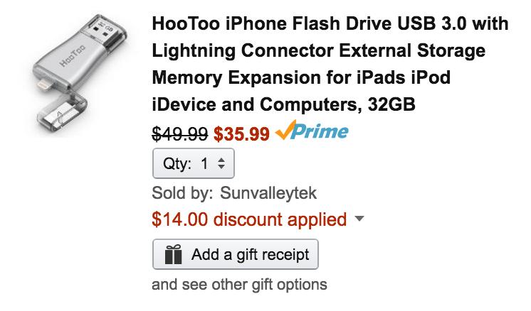 hootoo-lightning-usb-flash-drive-amazon-deal