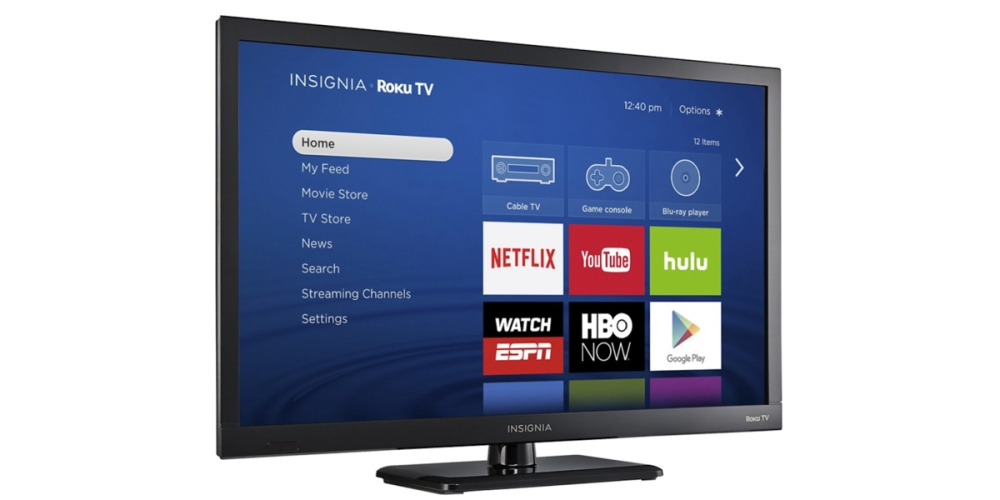 Insignia 24-inch LED 720p Smart Roku TV