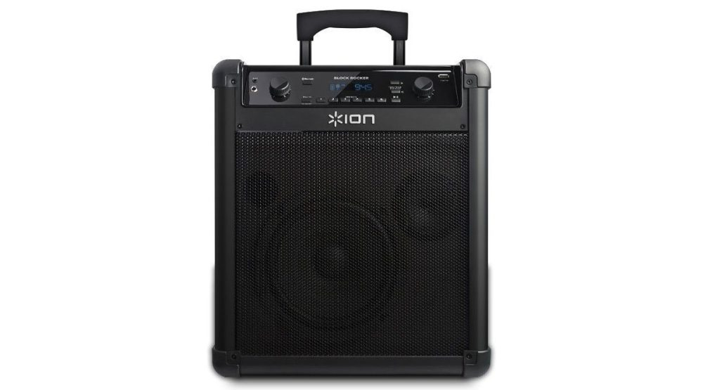 Ion iPA76C Block Rocker Bluetooth Portable Speaker System