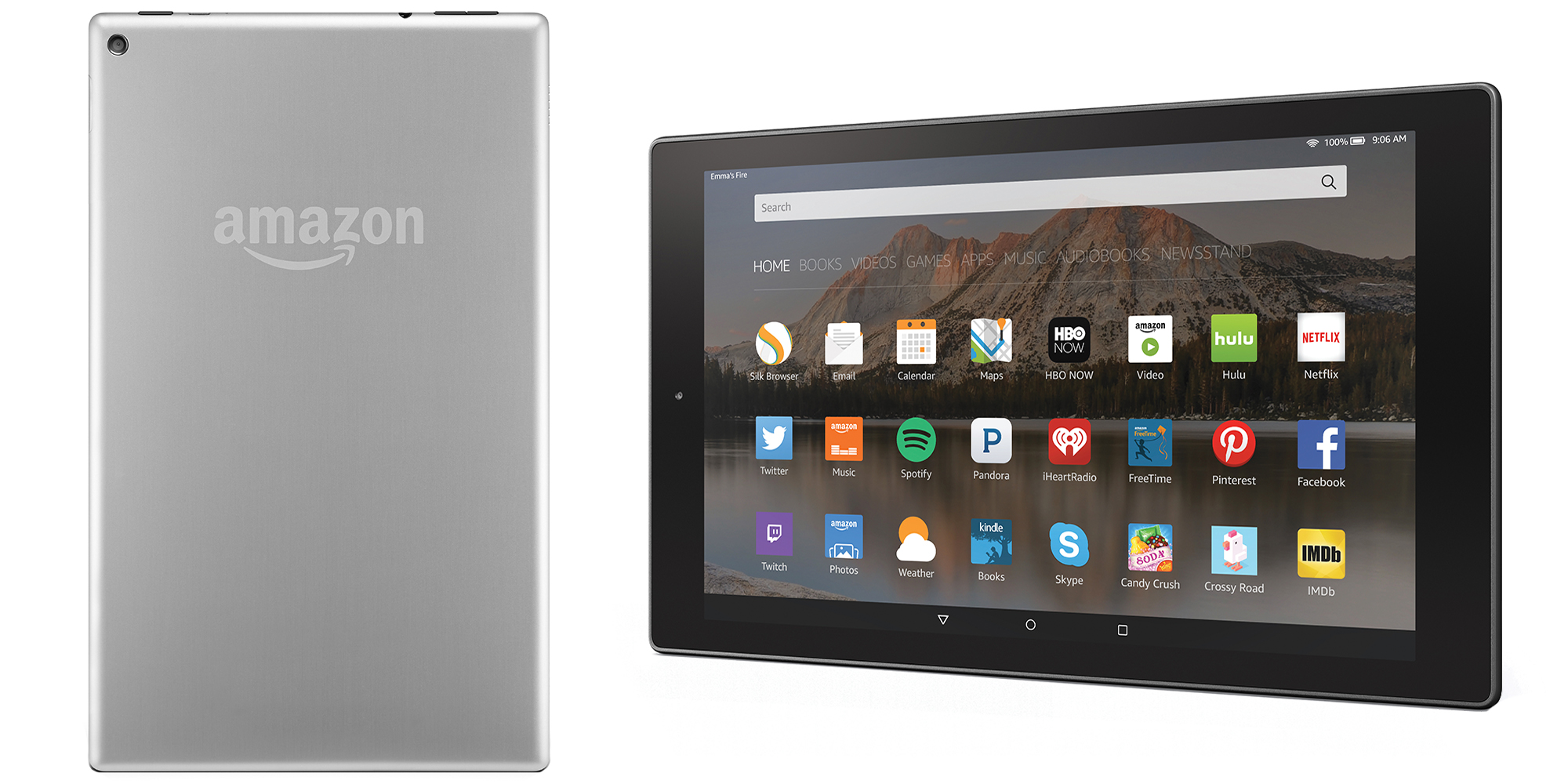 Amazon Announces Upgraded Fire Hd 10 Tablet With Fresh