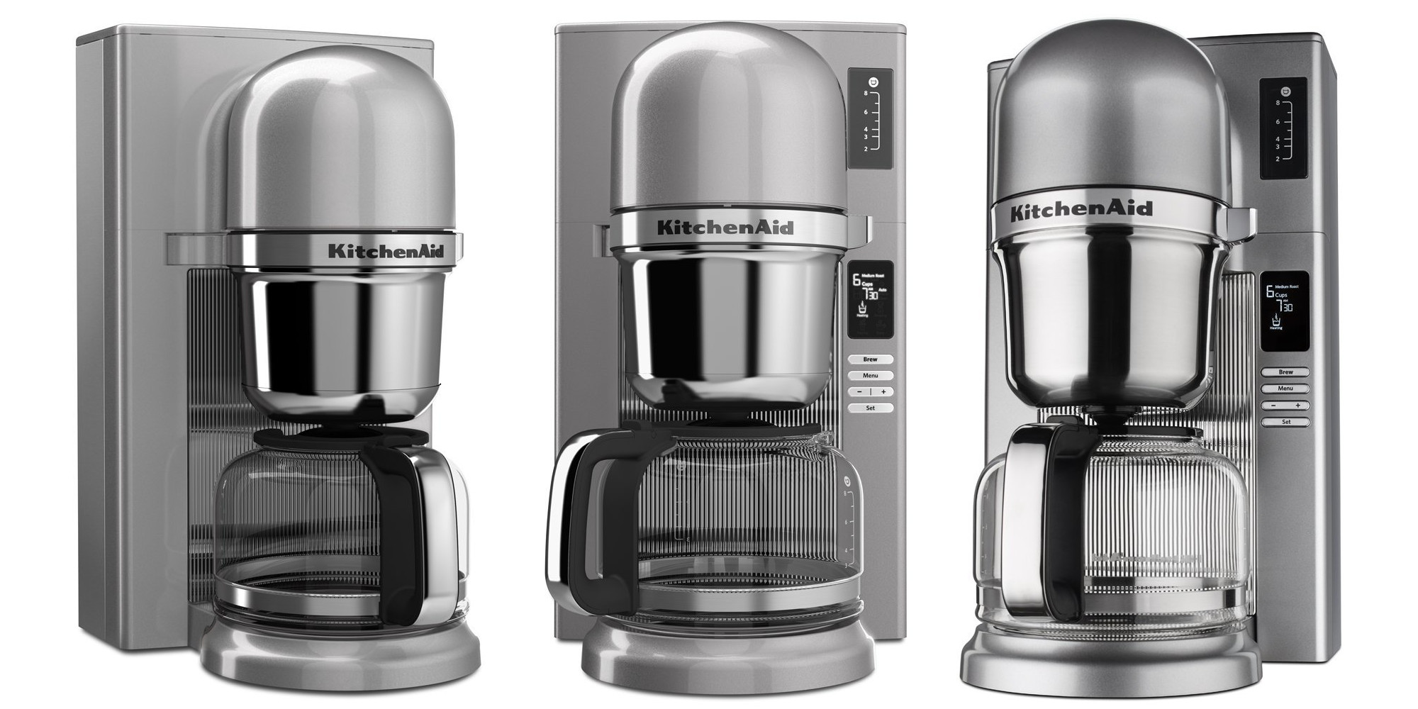 Kitchenaid S Brushed Stainless Steel Digital Pour Over