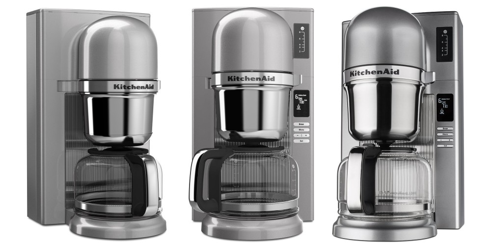 KitchenAid Pour Over Coffee Brewer in Contour Silver (KCM0802CU)-4