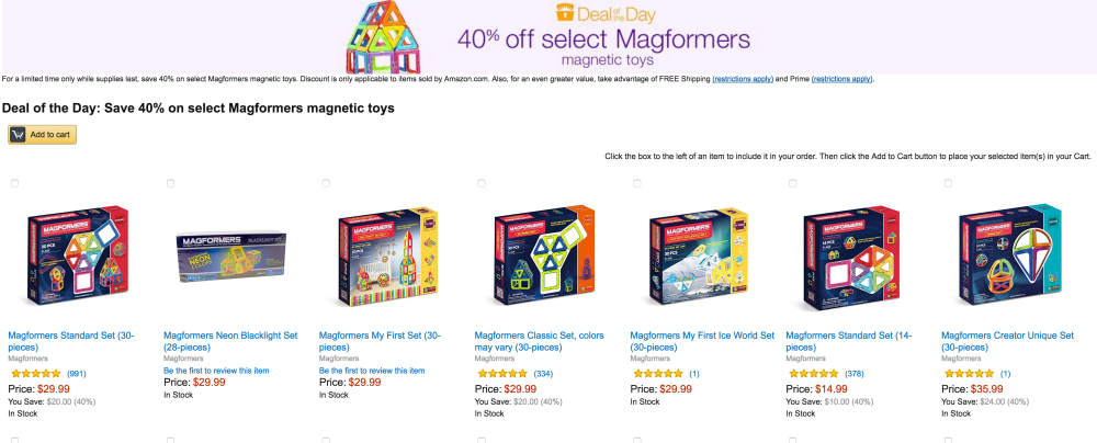 Magformers Standard Set (30-pieces)-3