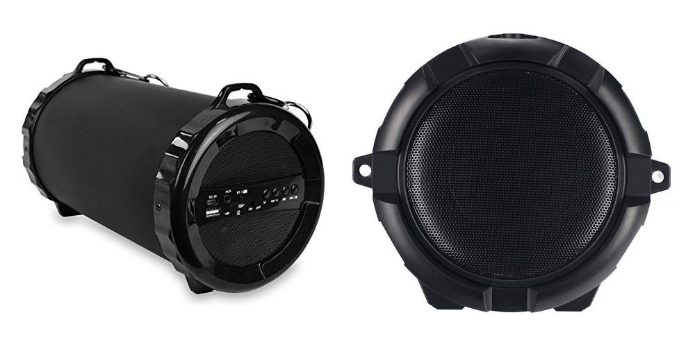 New Sound Barrage 10%22 Drum Portable Wireless Bluetooth Subwoofer Speaker