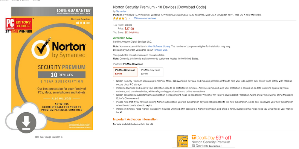 Norton-antivirus-sale