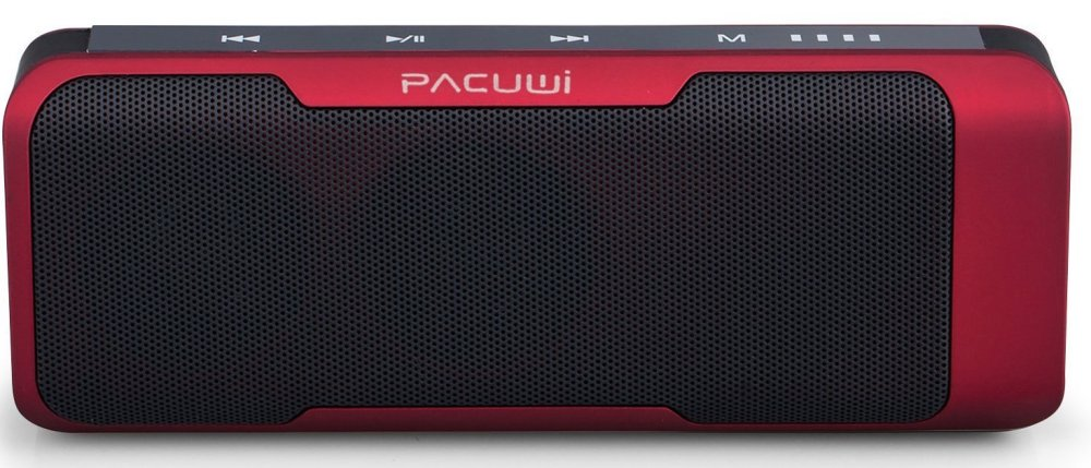 Pacuwi Portable Stereo Bluetooth Speaker with 4000mAh Power Bank