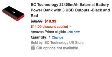 power bank on amazon