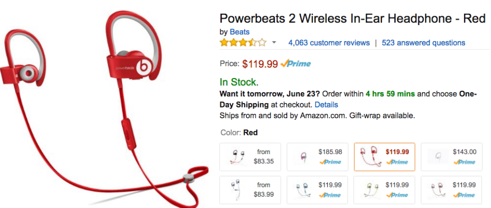 powerbeats2 wireless amazon