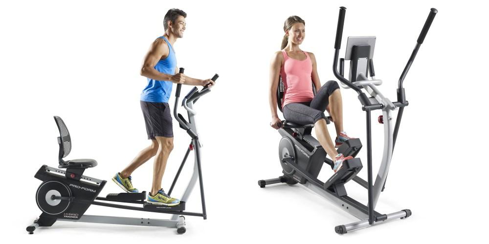 ProForm Hybrid Trainer elliptical-style machine-2