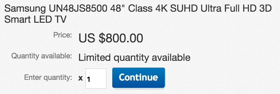 samsung-ebay-hdtv-deal