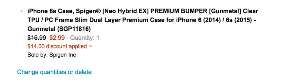 Spigen iPhone case sale-Amazon-05