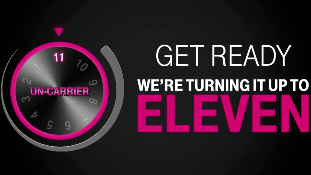 T-Mobile Uncarrier 11 #GetThanked