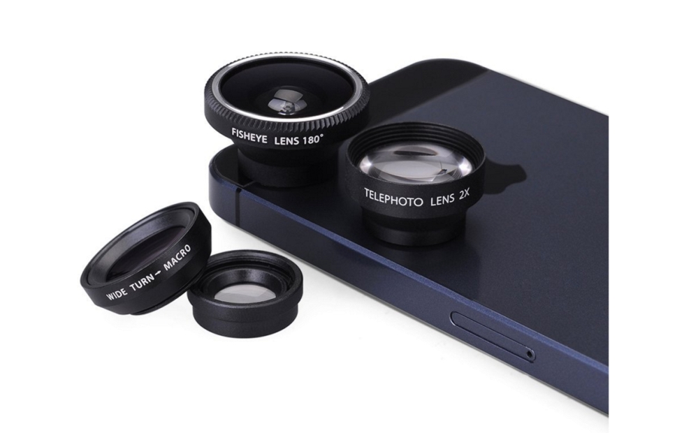 VicTsing Magnetic Detachable 4-in-1 Lens Kit for Phones