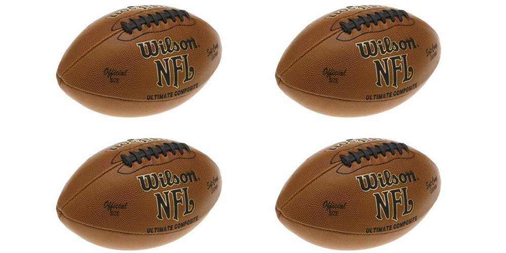 Wilson Team Sports WTF1845 NFL Ultimate Composite Official Size Football-2